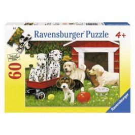 Пазл «Собаки в саду» 60 шт