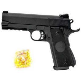 Пистолет Наша Игрушка Пистолет черный 2040