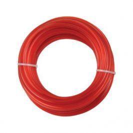 Леска для триммеров PATRIOT Duoline D 2,4мм L 15м скрученный квадрат, двухцветная, красная жила