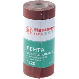 Лента шлиф. Hammer Flex 216-016 115х5м P320 бум. основа, рулон
