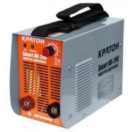 Инвертор сварочный КРАТОН Smart WI-200 7.2кВт 220В 50Гц 10-200А 1.6-5.0мм 6.9кг