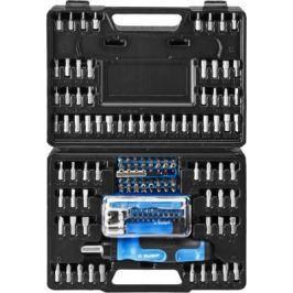 Набор ЗУБР ЭКСПЕРТ 25237-H129 реверс с магнитным битодержателем и отсеком для бит.130 п