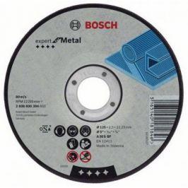 Круг отрезной BOSCH Expert for Metal 115x2,5x22 выпуклый (2.608.600.005) по металлу