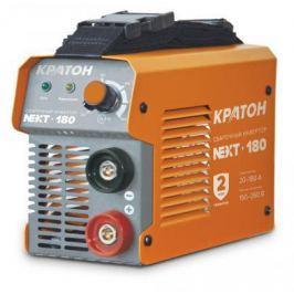 Инвертор КРАТОН NEXT-180 MMA IGBT 20-180А ПВ 60% 150-260в электроды 1.6-4мм 3.8кг