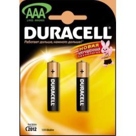 Батарейка DURACELL LR03-2BL 1.5В AAA (тонкая) (цена за шт,в блистере 2шт)