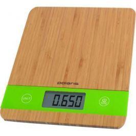 Весы кухонные Polaris PKS 0545D бамбук зелёный