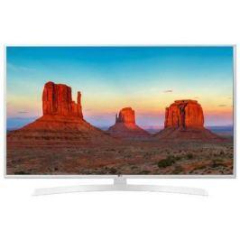 Телевизор LG 43UK6390PLG белый