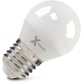 Лампа X-FLASH XF-E27-G45-6.5W-4000K-230V Шар. Е27. 4000К. 490лм.X6