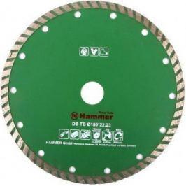 Диск алм. Hammer Flex 206-114 DB TB 180x22мм турбо.