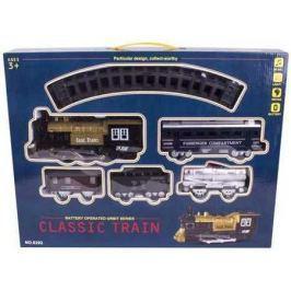 Игровой набор Yako Classic Train черный Y1699035