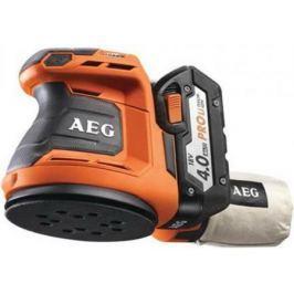 Эксцентриковая шлифмашина AEG 451087(BEX18-125 LI-402C) 125 мм