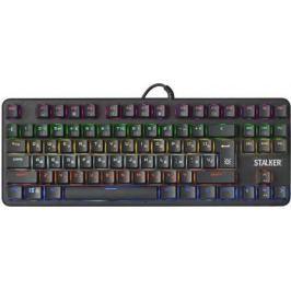 Клавиатура проводная Defender Stalker GK-170L USB черный