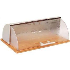 8012-WR Хлебница WINNER Бамбуковое основание.Размеры: 38*26,5*14 см.