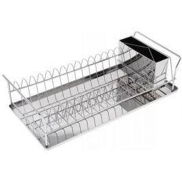 5512-BK Сушилка для посуды BEKKER.45*21*11,5см Состав: нерж. сталь.
