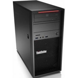 Системный блок Lenovo ThinkStation P320 E3-1230v6 3.5GHz 16Gb 256Gb SSD P1000-4Gb DVD-RW Win10Pro черный 30BH004TRU