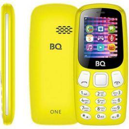 Мобильный телефон BQ 1844 One жёлтый