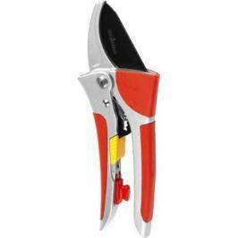 Секатор GRINDA 8-423037_z01 expert алюминиевые ручки упорная пластина храповый механизм 200мм