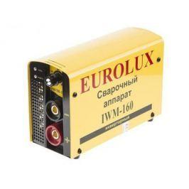 Инвертор сварочный EUROLUX IWM160 220В 10-160А ПВ70% 4.5кг