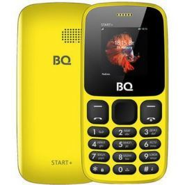 Мобильный телефон BQ 1414 Start+ жёлтый
