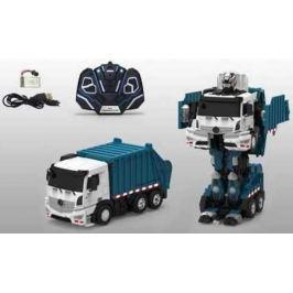Робот-трансформер 1Toy Мусоровоз 38 см на радиоуправлении Т10601