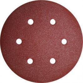 Круг фибровый (цеплялка) ПРАКТИКА 031-587 150мм 6отв. Р120 5шт.