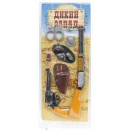 Набор 1TOY Дикий Запад оранжевый черный Т59141