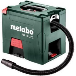 Промышленный пылесос Metabo AS 18 L PC сухая уборка зелёный