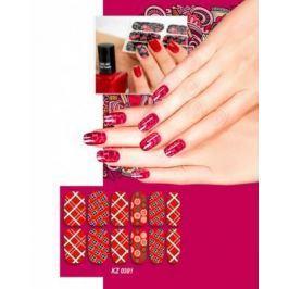 Арт-пленка для дизайна ногтей «ШОТЛАНДКА» KZ 0381