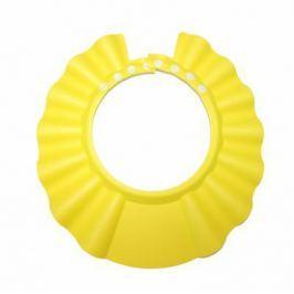Шапочка - козырёк для мытья головы детская «КУПАЕМСЯ БЕЗ СЛЁЗ» желтый DE 0143