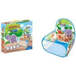 Манеж детский игровой Зверята, 59*59*74см, коробка