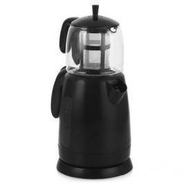 Чайник Sinbo STM 5700, набор, 2000Вт, 1.7л, пластик, черный
