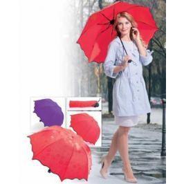 Зонт с проявляющимся рисунком, фиолетовый SU 0034