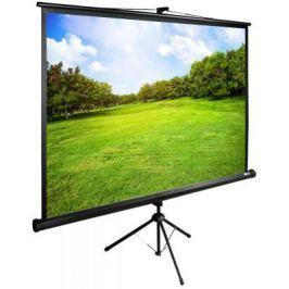 Экран напольный рулонный Cactus CS-PSTE-200Х150-BK —