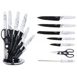 7355-WR Ножи WINNER Набор из 7 предметов с подставкой.Состав: нерж. сталь.