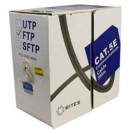 Кабель F/UTP indoor 4 пары категория 5e 5bites одножильный 24AWG CCA PVC 305m FS5505-305A