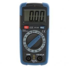 Мультиметр цифровой СЕМ DT-103 карманный тестер