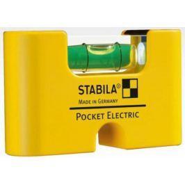 Уровень STABILA 17775 Pocket Еlectric 70мм, 1 глазка, точность 1мм/м
