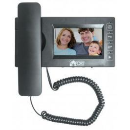 Комплект видеодомофон + вызывная панель FORT Automatics С0408HF