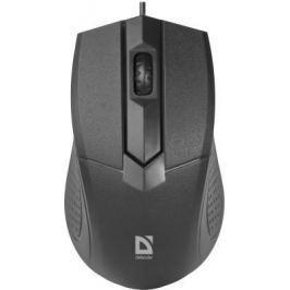 Мышь проводная Defender Optimum MB-270 чёрный USB