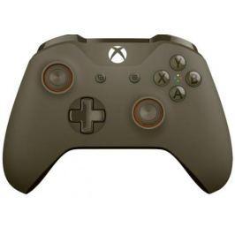 Геймпад Беспроводной Microsoft Combat Tech Special Edition темно-зеленый для: Xbox One (WL3-00090)