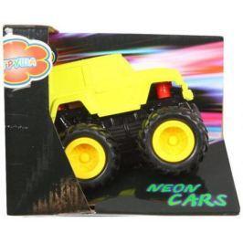 Машина Yako Neon cars желтый 8391R-3