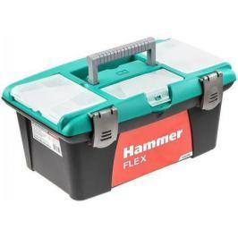 """Ящик для инструментов Hammer Flex 235-018 16"""" с морозост. Зам. и органайз.400*250*180"""