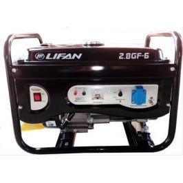 Генератор LIFAN 2.8GF-6 бензиновый 220В 2.8/3кВт 7 лс.