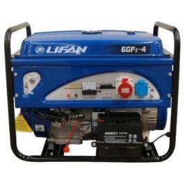 Генератор LIFAN 6GF2-4 бензиновый 220/380в 6/6.5кВт 15 лс.