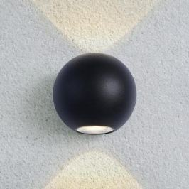 Уличный настенный светодиодный светильник Elektrostandard 1566 Techno LED Diver черный 4690389107481