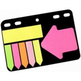 Набор липких закладок на перфорации: 5 закладок, стрелка, 1 блок в блистере