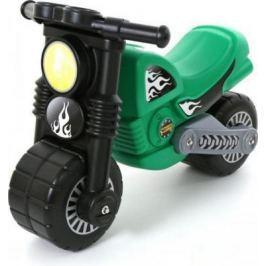 Каталка-мотоцикл Полесье Моторбайк зеленый от 2 до 6 лет пластик 40480