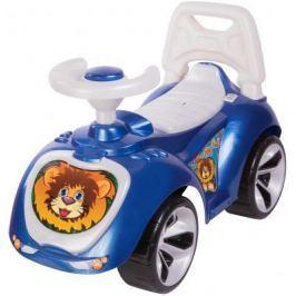 Каталка-машинка RT Мишка (LAPA) синий от 18 месяцев пластик