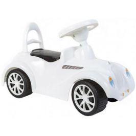 Каталка-машинка RT Ретро белый от 10 месяцев пластик