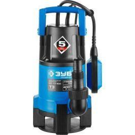 Насос ЗУБР НПГ-Т3-400 профессионал т3 погружной дренажный для грязной воды d частиц до 35мм 400Вт